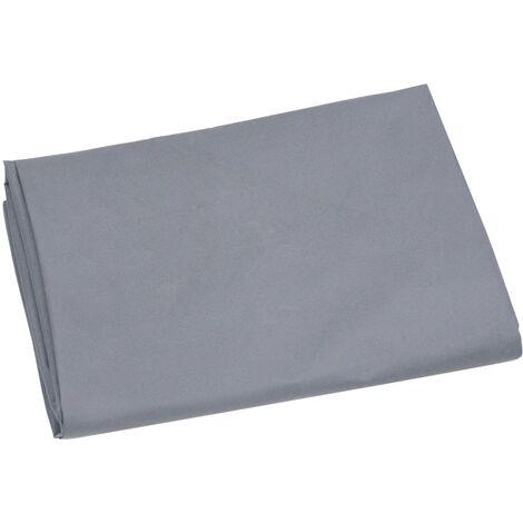 vidaXL Garden Cart Liner Dark Grey 86x46x41 cm Fabric - Grey