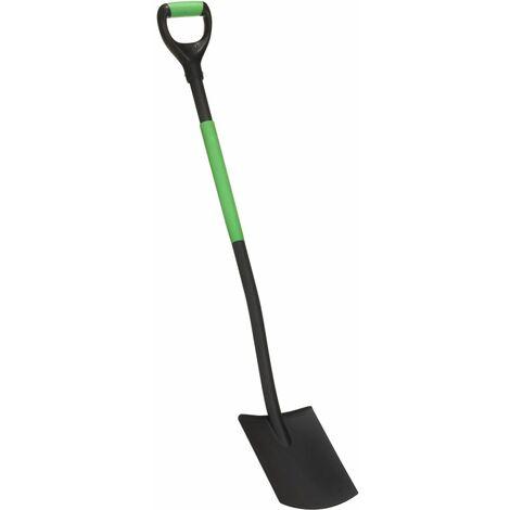 vidaXL Garden Digging Spade D Grip Steel