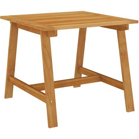 vidaXL Garden Dining Table 88x88x74 cm Solid Acacia Wood
