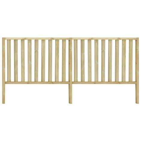 vidaXL Garden Fence Impregnated Pinewood 3.58x1.7 m - Brown