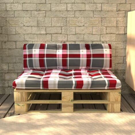 vidaXL Garden Pallet Bench Wood - Brown