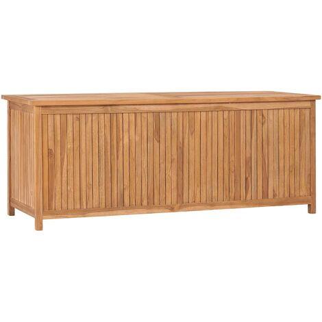 vidaXL Garden Storage Box 150x50x58 cm Solid Teak Wood - Brown