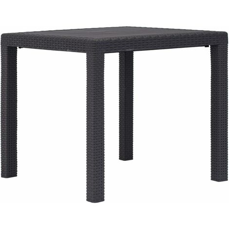 """main image of """"vidaXL Garden Table Dining Room Patio Table Coffee Table Picnic Desk Side Table Outdoor Furniture Plastic Rattan Look Multi Colour Multi Size"""""""