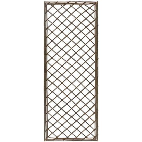 vidaXL Garden Trellises 6 pcs 30x120 cm Willow - Brown