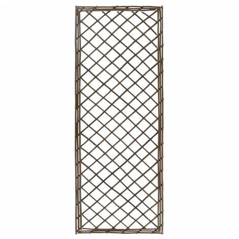 vidaXL Garden Trellises 6 pcs 30x170 cm Willow - Brown