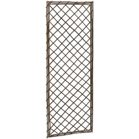 vidaXL Garden Trellises 6 pcs 45x120 cm Willow - Brown