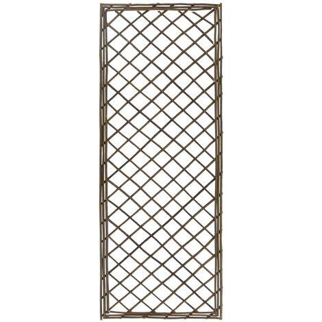 vidaXL Garden Trellises 6 pcs 45x170 cm Willow - Brown