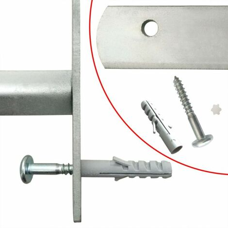 vidaXL Grille de défense sécurité ajustable à 4 traverses pour fenêtre de 500-650 m