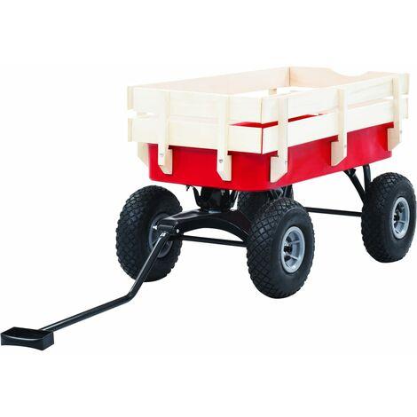 vidaXL Hand Trolley 150 kg Red - Red