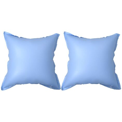 """main image of """"vidaXL Inflatable Winter Air Pillows for Above-Ground Pool Cover 2 pcs - Blue"""""""