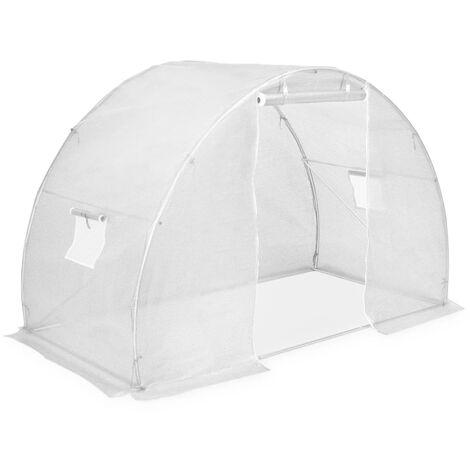 vidaXL Invernadero 4,5m² 300x150x200 cm - Blanco