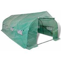 vidaXL Invernadero tienda portatil estructura de acero 18 m2 (no se puede enviar a Baleares)