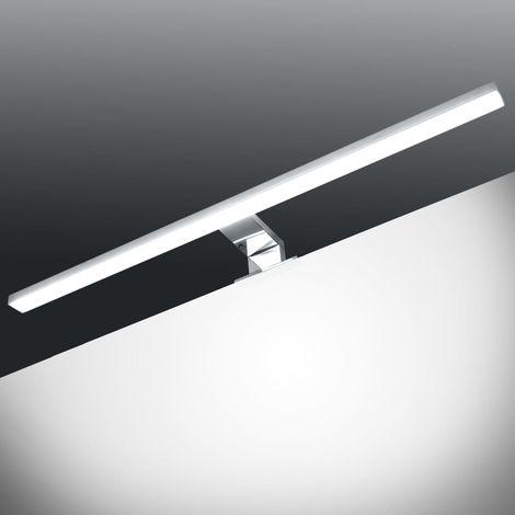 vidaXL Lampe de miroir 8 W Blanc froid