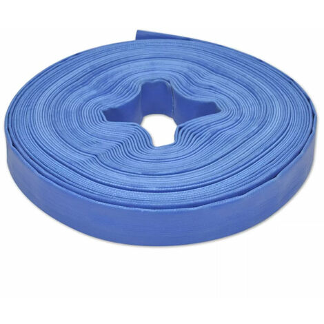 "vidaXL Manguera plana de agua 25 m 1"" PVC (no se puede enviar a Baleares)"