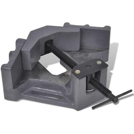 vidaXL Manually Operated Drill Press Corner Vice 115 mm