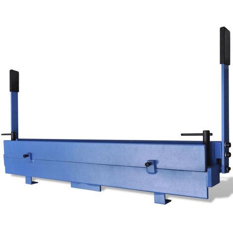 VidaXL Maquina plegadora de chapa de metal 930 mm