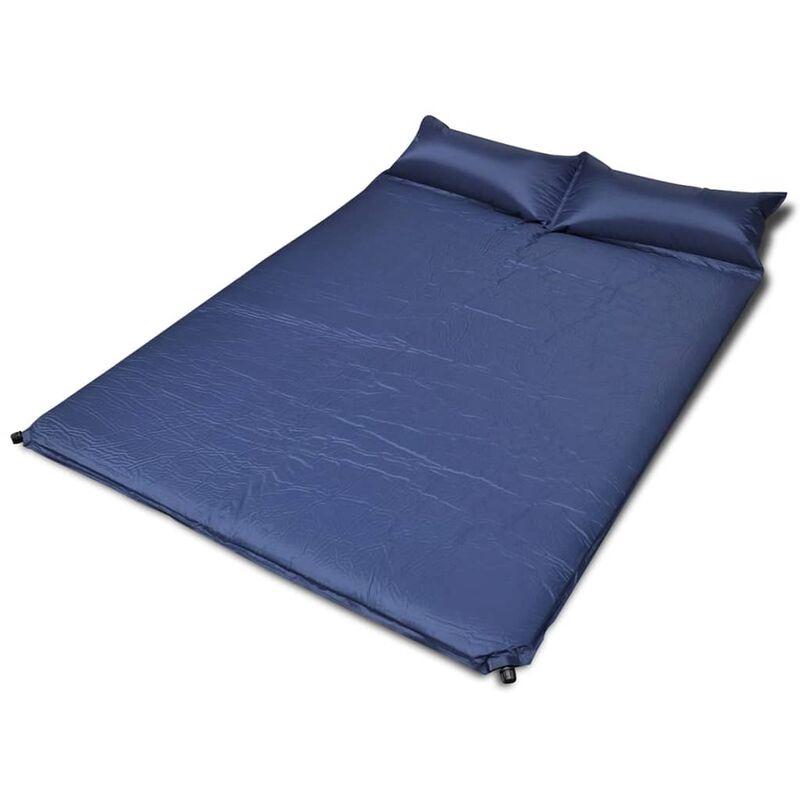 Matelas Autogonflant 190x130x5 cm (2 Personnes) Bleu