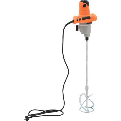 vidaXL Mezclador de cemento electrico de mano 6 velocidades 1400 W (no se puede enviar a Baleares)