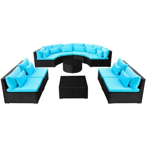 Conjunto de muebles de jardín XXL
