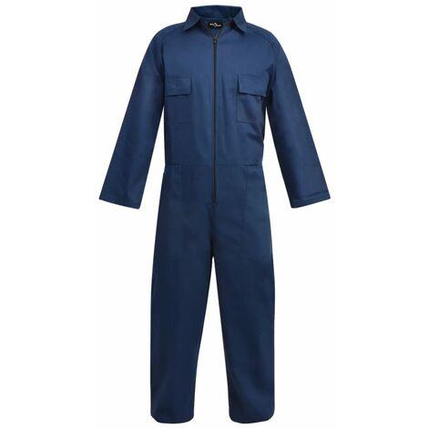 vidaXL Mono de trabajo de hombre talla M azul - Azul