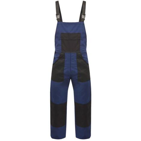 vidaXL Mono de trabajo de hombre talla XL azul - Azul