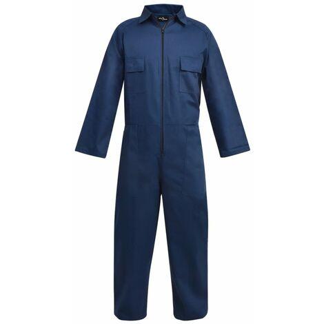 vidaXL Mono de trabajo de hombre talla XXL azul - Azul