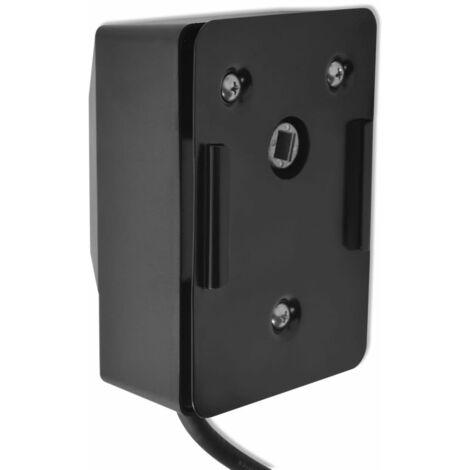vidaXL Motor para espetón de asado/barbacoa 4 W negro - Negro