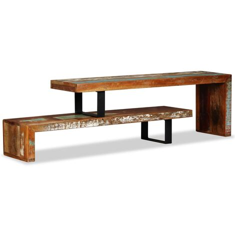 Mueble para TV de Madera Maciza Reciclada