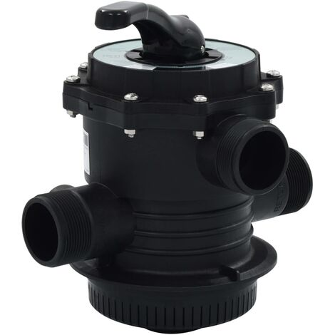 """main image of """"vidaXL Multiport Valve for Sand Filter ABS 1.5"""" 6-way"""""""