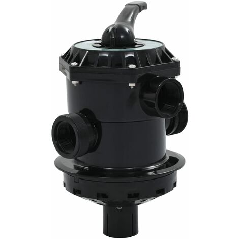 """main image of """"vidaXL Multiport Valve for Sand Filter ABS 1,5"""" 6-way"""""""