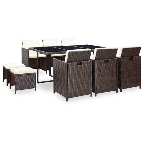 Conjunto de muebles de jardín para 8 o 10 personas