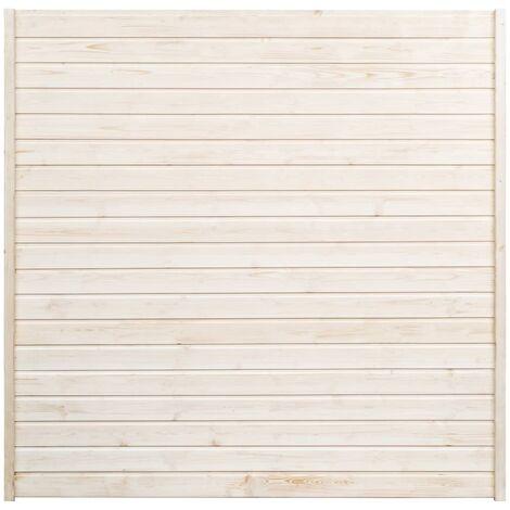 vidaXL Panel de valla de jardín 1,7x1,7 m - Marrón