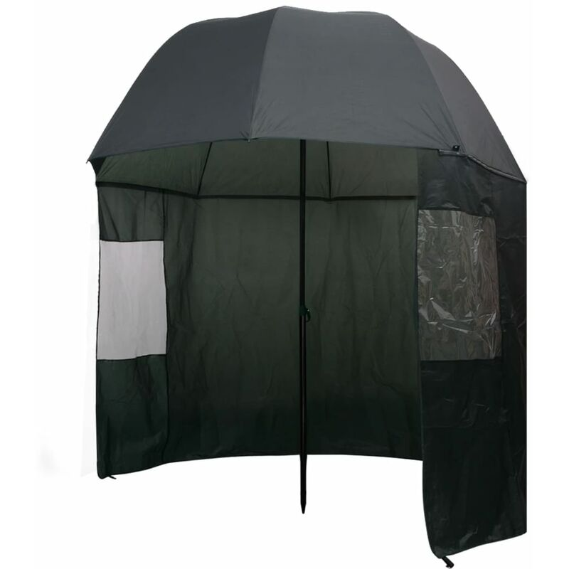 Vidaxl - Parapluie de pêche Vert 300x240 cm