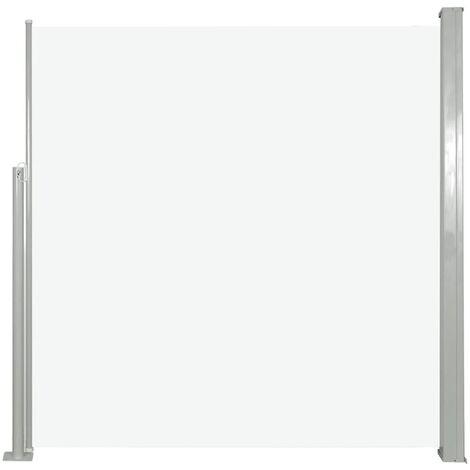 VidaXL Paravent Exterieur Auvent Lateral Retractable 120 X 300 Cm Gris