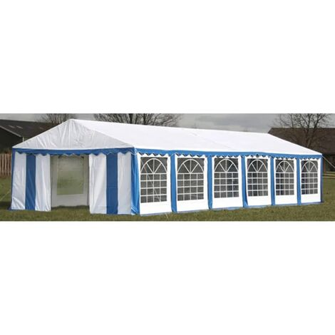 "main image of ""vidaXL Party Tent 12 x 6 m Blue - Blue"""