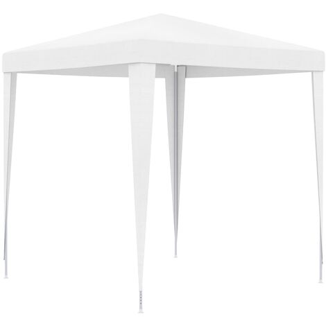 vidaXL Party Tent 2x2 m White - White