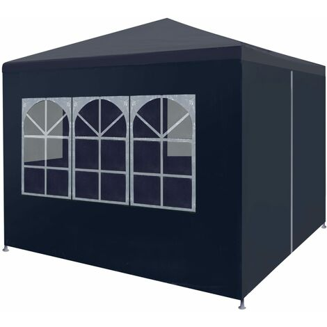 "main image of ""vidaXL Party Tent 3x3 m Blue - Blue"""