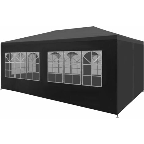 vidaXL Party Tent 3x6 m Anthracite - Anthracite