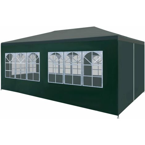 vidaXL Party Tent 3x6 m Green - Green