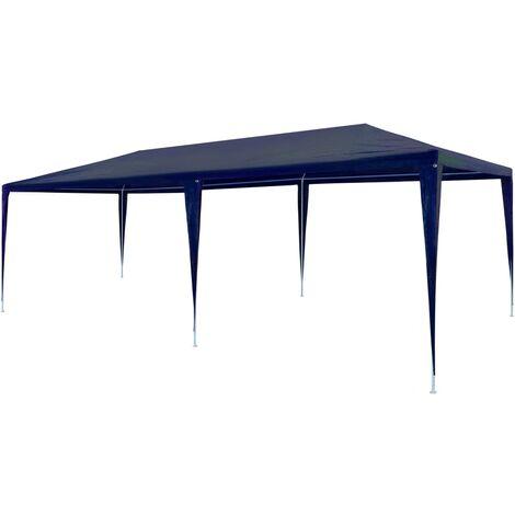 vidaXL Party Tent 3x6 m PE Blue - Blue