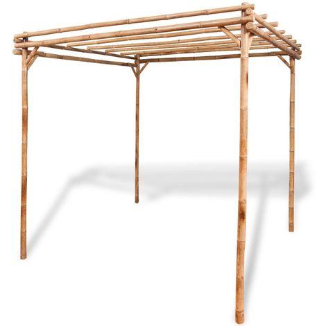 vidaXL Pergola de bamb¨² 195x195x195 cm (no se puede enviar a Baleares)