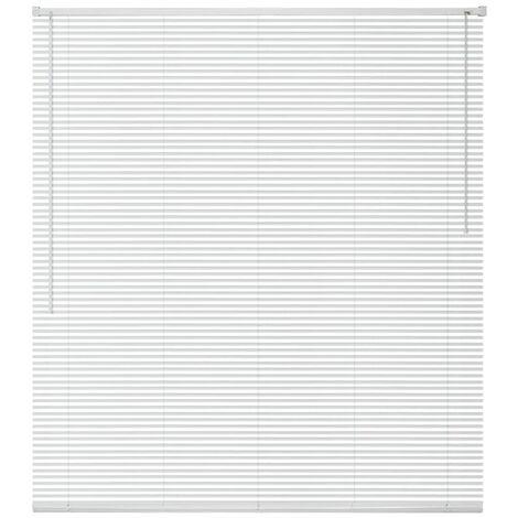 "main image of ""vidaXL Persiana aluminio 160x160 cm blanca - Blanco"""