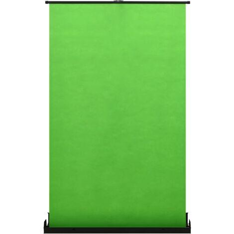 "vidaXL Photography Backdrop Green 95"" 4:3 - Green"