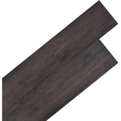 vidaXL Planche de Plancher PVC 5,26 m² 2 mm Plancher Achalandé Revêtement de Sol Cuisine Salle de Bain Salon Intérieur Multicolore