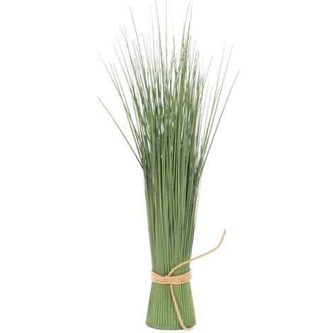 vidaXL Planta de hierba artificial 60 cm - Verde