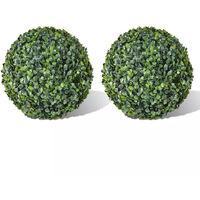 Vidaxl Plante Artificielle 2 Pcs 35 Cm