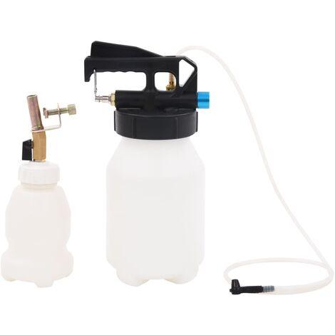 vidaXL Pneumatic Brake Bleeder Extractor Pump with Filler Bottle 3.5 L