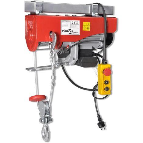vidaXL Polipasto electrico 1300 W 500/999 kg