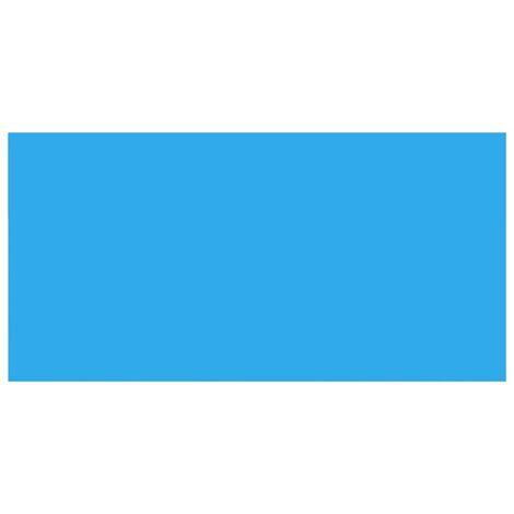 "main image of ""vidaXL Pool Cover Blue 488x244 cm PE - Blue"""
