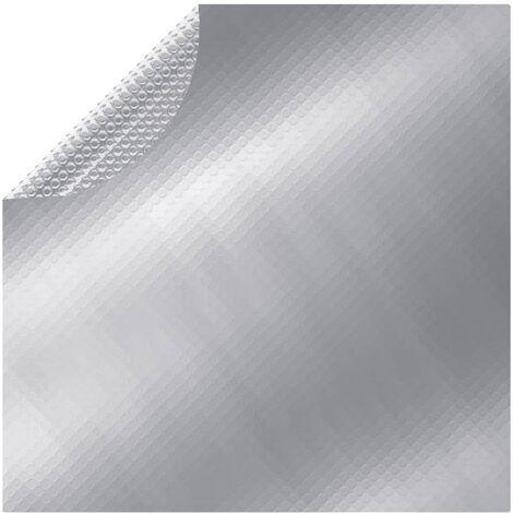 "main image of ""vidaXL Pool Cover Silver 250 cm PE - Silver"""